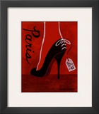 High Heels Paris Posters by Matla Jennifer