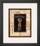 Grooming Shaving Poster by Charlene Audrey