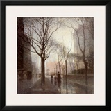 Plaza After the Rain Art by Paul Cornoyer