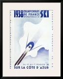 Championnats de France, c.1938 Framed Giclee Print