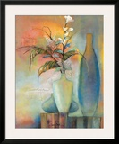 Floral Fantasy I Prints by Sandy Clark