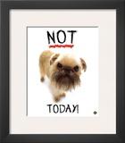 Not Today! Art by Yoneo Morita