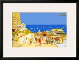 Southend-on-Sea Framed Giclee Print by R T Roussel