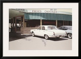'64 Valiant Framed Giclee Print by Robert Bechtle