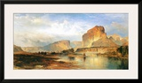 Cliffs of the Green River Art by Thomas Moran