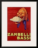 Zambelli-Bassi Framed Giclee Print by Achille Luciano Mauzan