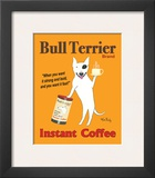 Bull Terrier Brand Art by Ken Bailey