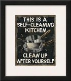 Self Cleaning Kitchen Art by  Pela