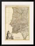 Composite: Portugal, Algarve, c.1780 Poster by Giovanni Antonio Bartolomeo Rizzi Zannoni