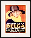 Belga Framed Giclee Print by Leo Marfurt