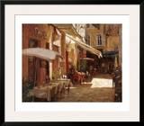 Café de Provence Prints by Leonard Wren