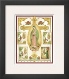 Lady Of Guadalupe Montage Poster by Vincent Barzoni