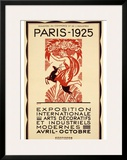 Paris Art Exposition, c.1925 Framed Giclee Print by Robert Bonfils