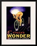 Cycles Wonder Framed Giclee Print by Paul Mohr