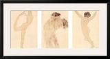 Dancing Figure, the Kiss, the Woman Prints by Auguste Rodin