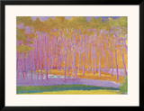 Light and Bright, 2000 Framed Giclee Print by Wolf Kahn