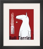 Bull Terrier Tea Posters by Ken Bailey