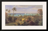 Bahamas Harbour 1882 Print by Albert Bierstadt