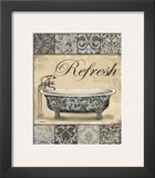 Refresh Bath Poster by Todd Williams