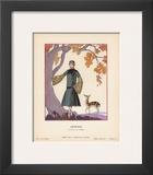 Artemis Prints by Georges Barbier