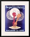 Bozon Verduraz Framed Giclee Print by Severo Pozzati