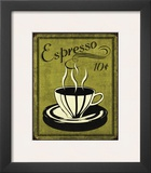 Retro Coffee II Prints by N. Harbick