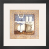 Country Bath IV Prints by Carol Robinson