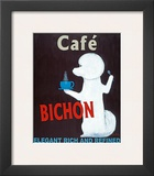 Café Bichon Art by Ken Bailey