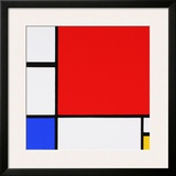 Composition Prints by Piet Mondrian