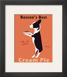 Boston's Best Cream Pie Posters by Ken Bailey