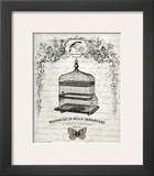 French Birdcage II Prints by Gwendolyn Babbit