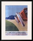 Circvito di Milano Framed Giclee Print by Aldo Mazza
