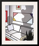 Interior with Shadow Art by Roy Lichtenstein