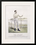 John L. Sullivan, Irish Boxer Framed Giclee Print