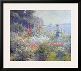 Mrs. Mayer's Garden Prints by Abbott Fuller Graves