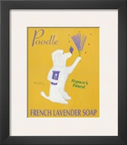 New Poodle Lavender Prints by Ken Bailey