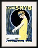 Savon Shyb Framed Giclee Print by Rene Lelong