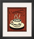 Retro Coffee III Posters by N. Harbick