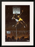 Omega Fly Dunk Poster by Frank Morrison