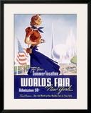 World's Fair, New York, c.1939 Framed Giclee Print