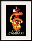 Bitter Orange Campari Aperitif Framed Giclee Print by Leonetto Cappiello