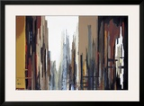 Urban Abstract No. 165 Framed Giclee Print by Gregory Lang
