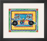 Race Car Print by Alison Jerry