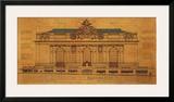 Grand Central Façade Art by Roger Vilar