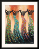 Dance of the Summer Solstice Prints by Monica Stewart