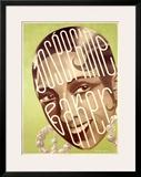 Josephine Baker Framed Giclee Print