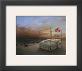 Ocean of Tranquility Prints by Samy Charnine