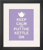 Keep Calm, Lavender Tea Print
