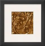 Copper Leaf Frieze Print by George Caso