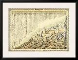 Mountains & Rivers, c.1856 Posters by G. W. Colton